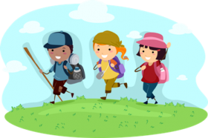 hikingchildren